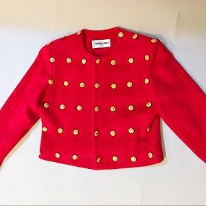 Patrick Kelly Jackets & Coats - Designer Patrick Kelly 80's Button Jacket Vintage